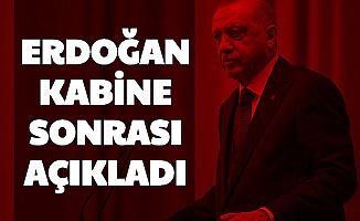 Kabine Sonrası Cumhurbaşkanı Recep Tayyip Erdoğan Açıkladı (Sokağa Çıkma Yasağı, 18 Altı 65 Yaş Üstü Yeni Saatler)