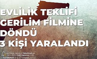 Kadıköy'de Evlilik Teklifi Kâbusa Dönüştü! 3 Kişi Yaralandı
