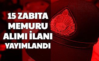 Karatay Belediyesi 15 Zabıta Memuru Alımı Yapacak