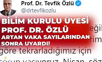 Koronavirüs Bilim Kurulu Üyesi Prof. Dr. Tevfik Özlü'den Uyarı: Nişan, Söz, Sünnet, Taziye Gibi...
