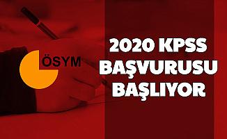 KPSS 2020 Başvurusu Başlıyor (Başvuru Ücreti Ne Kadar?)