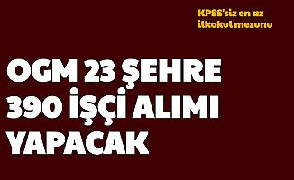 Orman Genel Müdürlüğü KPSS'siz 390 İşçi Alımı Yapacak