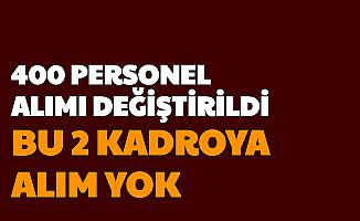 Sivas Cumhuriyet Üniversitesi 400 Personel Alımı Değişti: Bu 2 Kadroya Alım Olmayacak