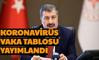 Son Dakika: Bugünün Korona Verileri Açıklandı-İşte 11 Haziran Türkiye Coronavirüs Vaka Sayısı
