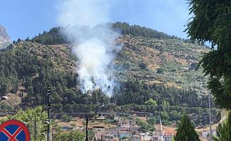 Son Dakika: Manisa'da Orman Yangını