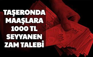 Son Dakika: Taşeronda 1000 TL Seyyanen Zam Talebi 2020