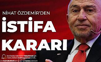 TFF Başkanı Nihat Özdemir Fenerbahçe Üyeliğinden İstifa Etti