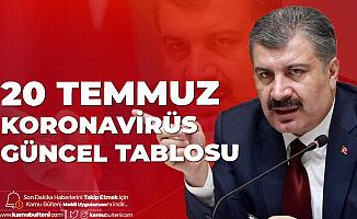20 Temmuz Türkiye Koronavirüs Güncel Tablosu Yayımlandı