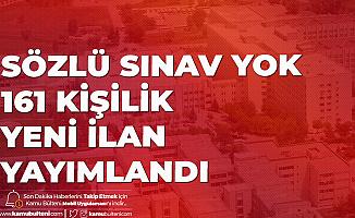 Bursa Uludağ Üniversitesi'ne 161 Sözleşmeli Kamu Personeli Alımı Yapılacak!