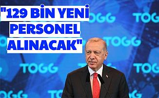 Cumhurbaşkanı Açıkladı: 129 Bin Personel Alımı Yapılacak (İŞKUR'dan)