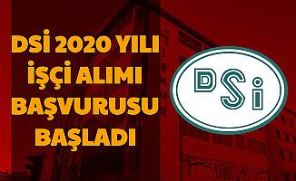 DSİ 2020 Yılı İşçi Alımı Başvurusu Başladı
