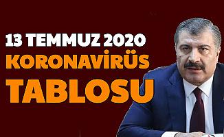 Fahrettin Koca 13 Temmuz Koronavirüs Tablosunu Açıkladı