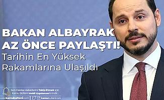 Hazine ve Maliye Bakanı Albayrak: Tarihin En Yüksek Haziran Rakamlarına Ulaşıldı, Vatandaşlarımıza Hayırlı Olsun