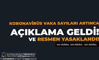Koronavirüs Vakalarında Artış Görülüyordu! Gaziantep Valiliği'nden Açıklama: 1 Hafta Süreyle Yasaklandı
