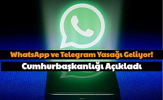 Memurlara WhatsApp ve Telegram Yasağı