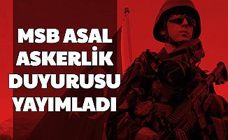 MSB ASAL Askerlik Duyurusu Yayımladı: Yedek Subay, Astsubay, Er ve Erbaş Alımı