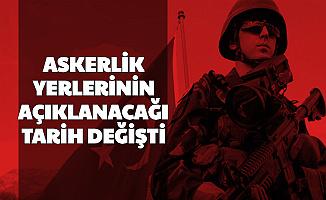 MSB ASAL Duyurdu: Askerlik Yerlerinin Açıklanacağı Tarih Değişti