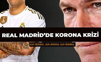 Real Madrid'li Yıldız Futbolcu Koronavirüse Yakalandı