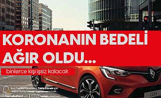 Renault Kararını Verdi: Binlerce Personel İşten Çıkarılacak