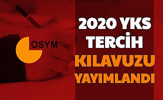 Son Dakika: 2020 YKS Tercih Kılavuzu Yayımlandı