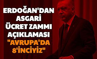 Son Dakika: Cumhurbaşkanı Erdoğan'dan Asgari Ücret Zammı Açıklaması