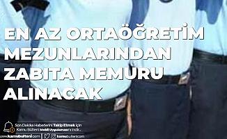 Sultangazi Belediyesi'ne Zabıta Memuru Alımı Başvuruları 4-10 Ağustos'ta Alınacak