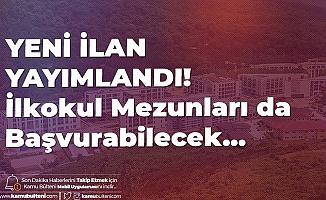 Türk-Alman Üniversitesi'ne İŞKUR Online Üzerinden Güvenlik Görevlisi, Temizlik Görevlisi ve Bakım Onarım Elemanı Alımı Yapılacak