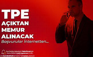 Türk Patent ve Marka Kurumu Memur Alımı Başvuruları Sürüyor