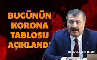 Türkiye Korona Tablosu Yayımlandı-İşte Bugünkü Vaka Sayısı