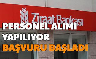 Ziraat Bankası Bünyesine KPSS'siz Personel Alımı Yapılacak