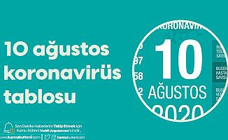 10 Ağustos Korona Tablosu Yayımlandı