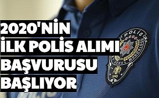 2020'nin İlk Polis Alımı Başlıyor-PMYO Başvuru Puanı Hakkında Önemli Detay Açıklandı