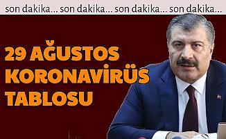 29 Ağustos Koronavirüs Tablosu Açıklandı-İşte Türkiye'de Bugünkü Vaka Sayısı