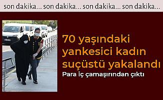 70 Yaşındaki Yankesici Kadın Suçüstü Yakalandı: Para İç Çamaşırından Çıktı