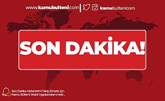 Ankara'da Freni Boşalan Kamyon Parka Daldı