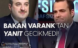 Bakan Varank'tan Prof. Demirtaş'a Tepki: Bu Hesaba Göre...