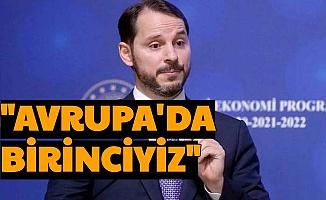 """Berat Albayrak: """"Avrupa'da İlk Sıradayız"""""""