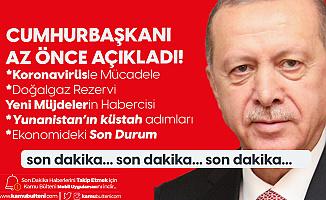 """Cumhurbaşkanı Erdoğan'dan Son Dakika Açıklamaları! """"Yeni Müjdelerin Habercisi"""""""