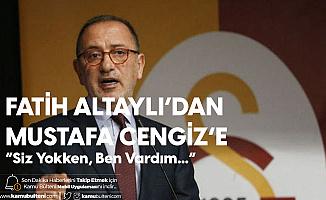 Fatih Altaylı'dan Mustafa Cengiz'e Sert Yanıt: Siz Yokken Ben Vardım