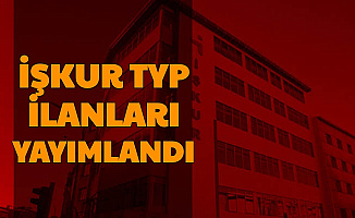 İŞKUR'da Yeni TYP İlanları Yayımlandı: Personel Alımı Yapılacak
