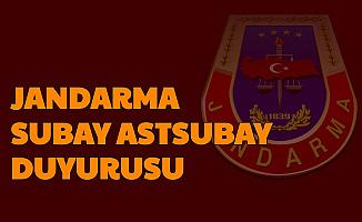 Jandarma Subay Astsubay Sonuç Duyurusu Yayımlandı