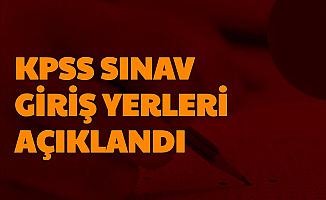 KPSS Sınav Giriş Yerleri Açıklandı-İşte ÖSYM AİS Giriş Sayfası