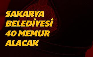 Resmi Gazete'de Yayımlandı: Sakarya Büyükşehir Belediyesi İki Kadroya Memur Alımı Yapacak