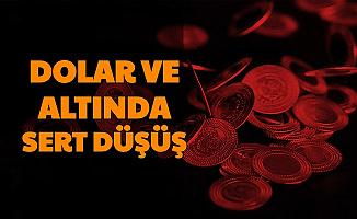 Son Dakika: Dolar ve Gram Altında Sert Düşüş İşte En Son Fiyatlar