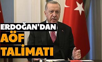 Son Dakika: Erdoğan'dan AÖF Talimatı