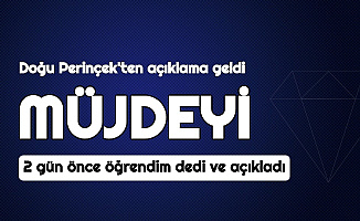 """Son Dakika: """"Erdoğan'ın Müjdesini İki Gün Önce Öğrendim"""" Dedi ve Açıkladı"""