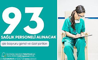 Van Yüzüncü Yıl Üniversitesi'ne 93 Sağlık Personeli Alımı Yapılacak