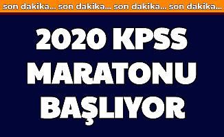 2020 KPSS İçin Süreç Başlıyor