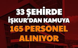 33 Şehirde Kamuya 3-4 Bin TL Maaşla Personel Alımı: İŞKUR KPSS'siz Kamu İş İlanları