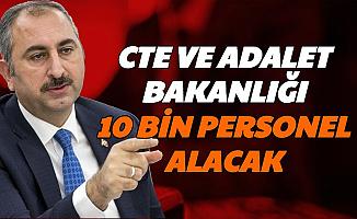 Abdulhamit Gül Açıkladı: Adalet Bakanlığı ve CTE'ye 10 Bin Kamu Personeli Alımı Yapılacak (İKM-Katip-Mübaşir)